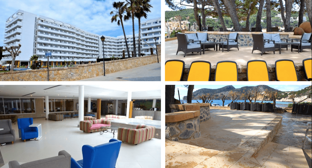 «Hall» y exteriores en HOTEL GRAN CAMP DE MAR