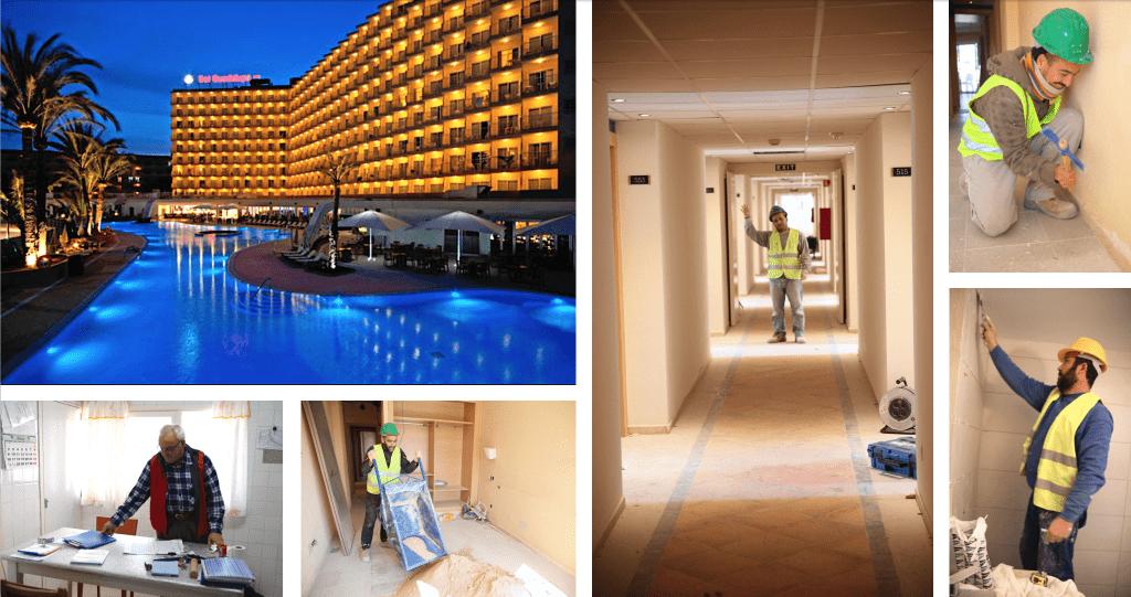 490 habitaciones en HOTEL SOL GUADALUPE