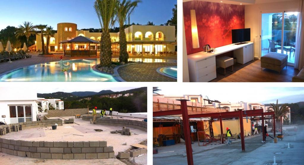 Habitaciones y restaurantes en INSOTEL TARIDA BEACH