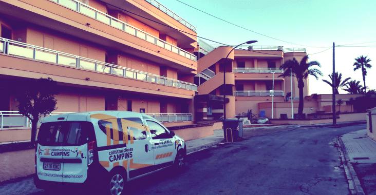 Cala Mandia, reforma integral Construcciones JL Campins